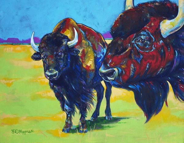 North Dakota Painting - Blue Beard by Derrick Higgins