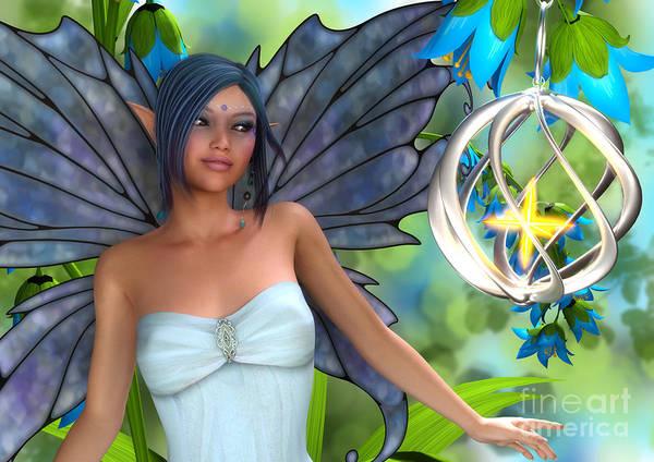 Blue Bell Magic Art Print