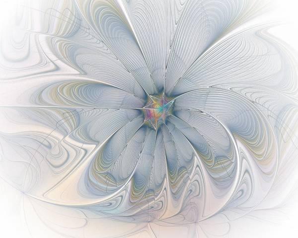 Digital Art - Blue Bloom by Amanda Moore