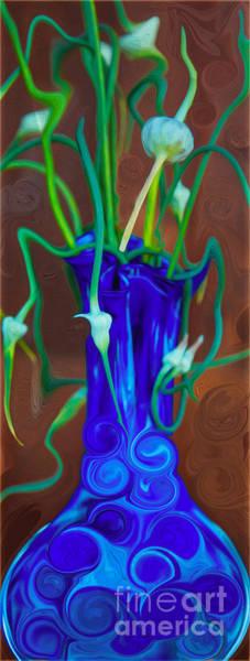 Painting - Blue Bounty by Omaste Witkowski