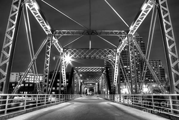 Wall Art - Photograph - Blue Bridge In Black And White by Twenty Two North Photography
