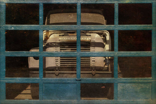Semi Truck Photograph - Blue Cage by Jeff  Gettis