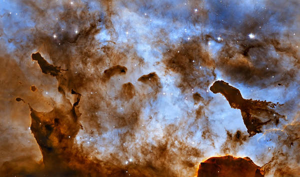 Wall Art - Photograph - Blue Carina Nebula  by Jennifer Rondinelli Reilly - Fine Art Photography
