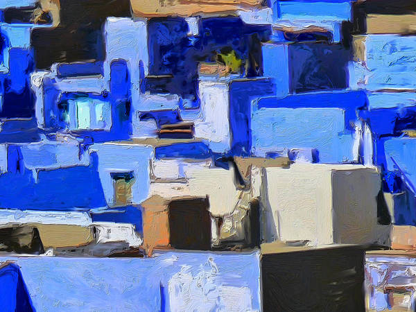 Painting - Blue City 3 by Dominic Piperata