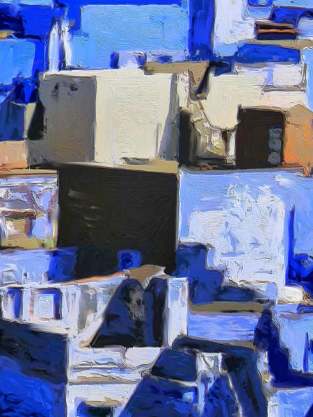 Painting - Blue City 5 by Dominic Piperata