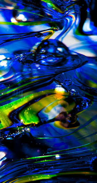 Photograph - Blue Crystal by David Patterson