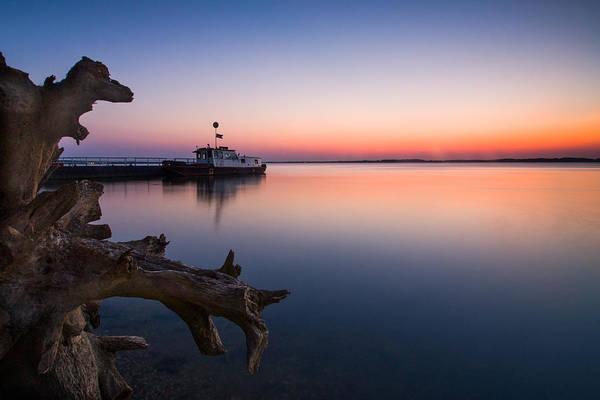 Danube Photograph - Blue Danube by Davorin Mance
