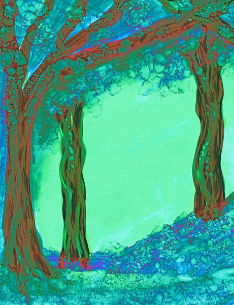 Painting - Blue Dawn by Kelly Dallas