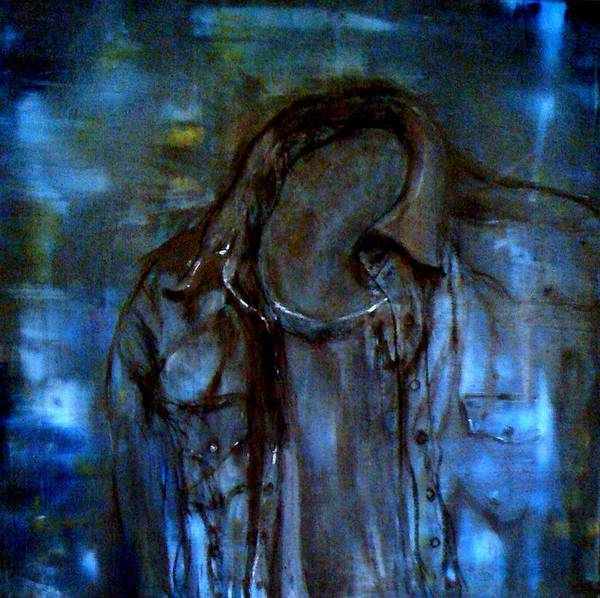 Painting - Blue Denim by Holly Suzanne