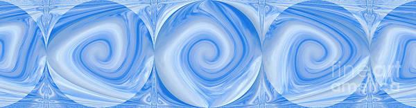Blue Design Art Print