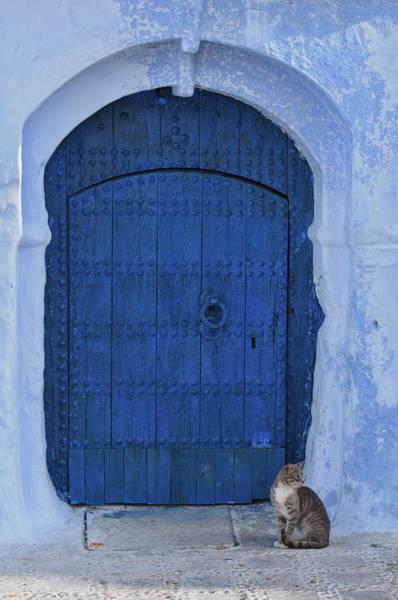 Chefchaouen Wall Art - Photograph - Blue Door by Dave Stamboulis Travel Photography