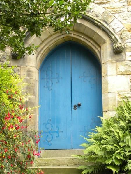 Photograph - Blue Door by Peggy  McDonald