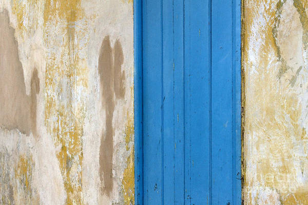 Photograph - Blue Door by PJ Boylan