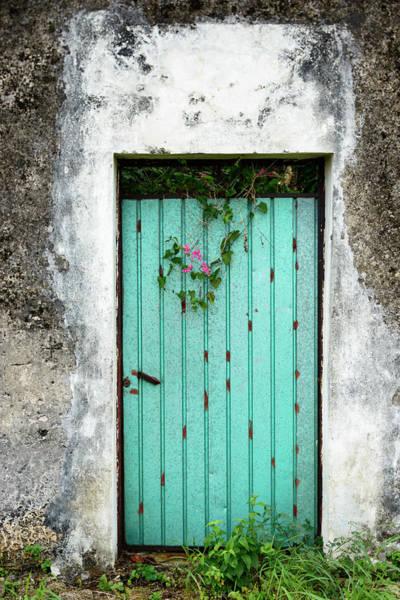 Yucatan Wall Art - Photograph - Blue Door -xxxl by Ogphoto