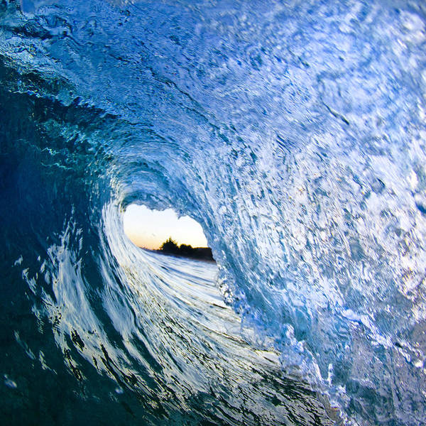The Wave Photograph - Blue Envelope  -  Part 3 Of 3 by Sean Davey