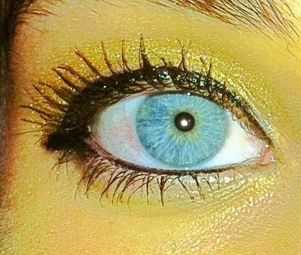 Photograph - Blue Eye by Marian Palucci-Lonzetta