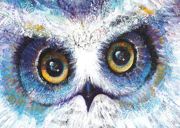 Painting - Blue Eyes by Laurel Bahe