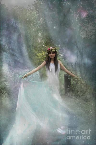Wall Art - Photograph - Blue Fairy  by Angel Ciesniarska