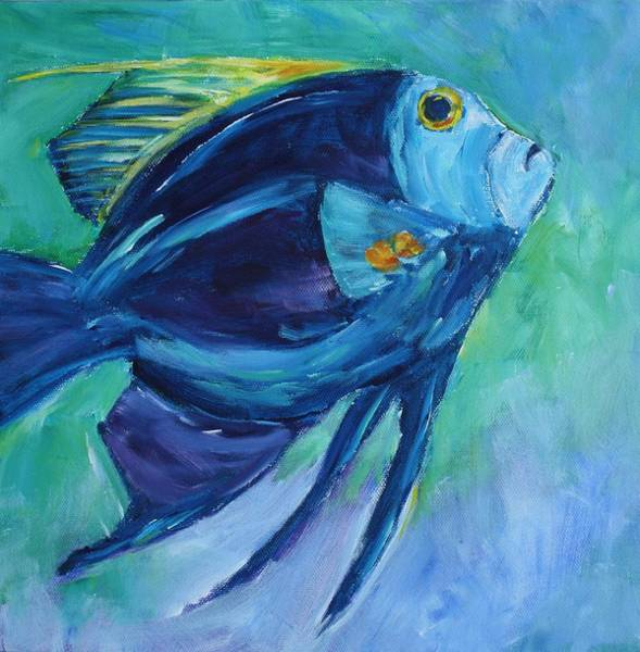 Painting - Blue Fish by Tara Moorman