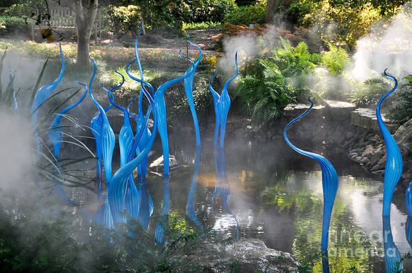 Photograph - Blue Fog by Cheryl McClure