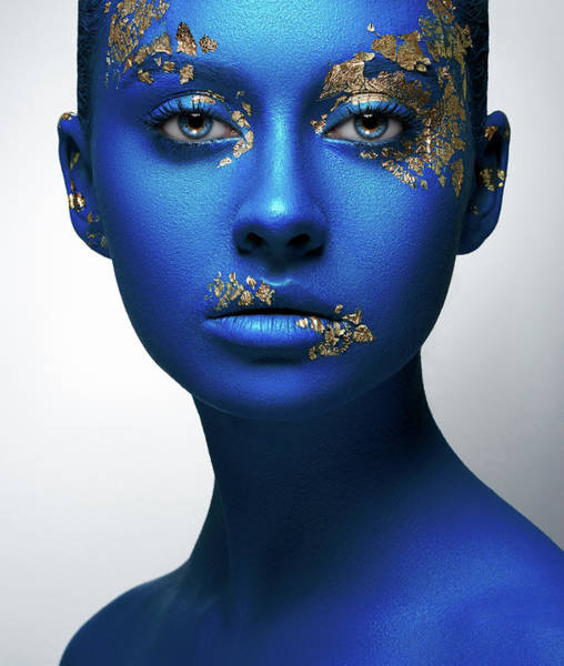 Wall Art - Photograph - Blue Gold by Alex Malikov
