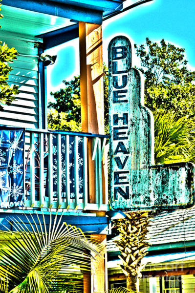 Photograph - Blue Heaven In Key West - 1 by Susanne Van Hulst