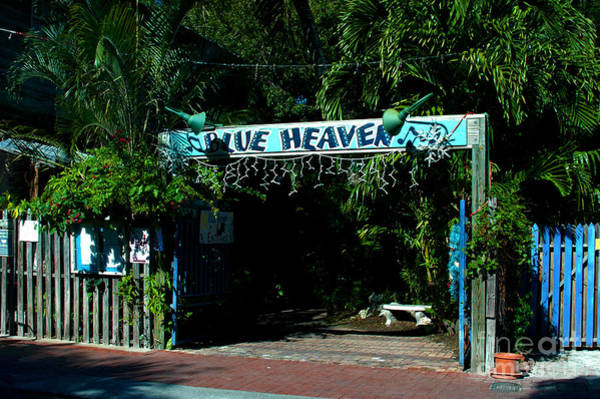 Photograph - Blue Heaven In Key West - 3 by Susanne Van Hulst