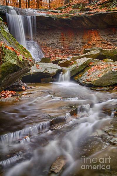 Joshua Clark Photograph - Blue Hen Falls by Joshua Clark