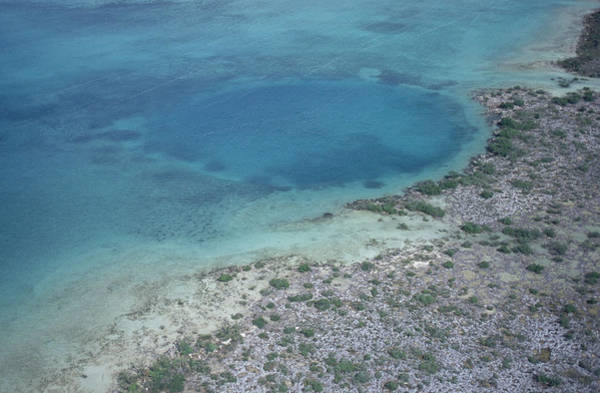 Andros Photograph - Blue Hole by Carleton Ray