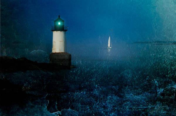 Photograph - Blue Horizon by Jeff Folger