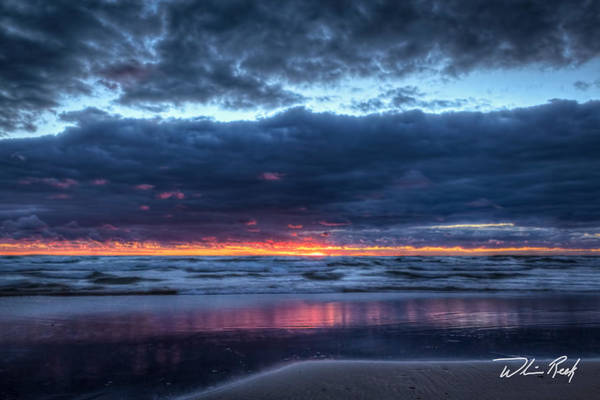 Photograph - Blue Hour At The Beach 2 by William Reek