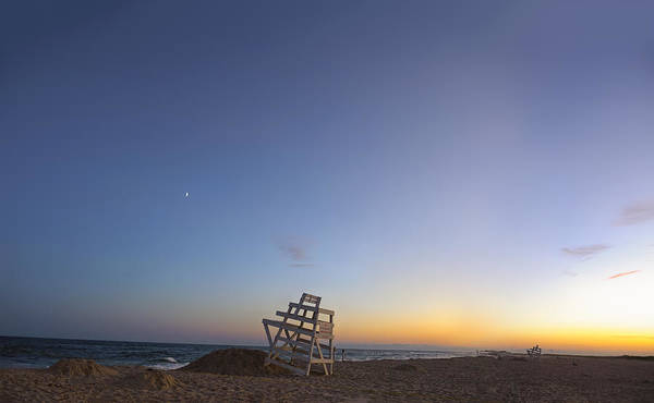 Sliver Photograph - Blue Hour In The Hamptons by Marianne Campolongo
