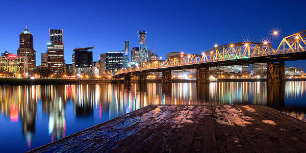 Portland Photograph - Blue Hour by Patrick Campbell