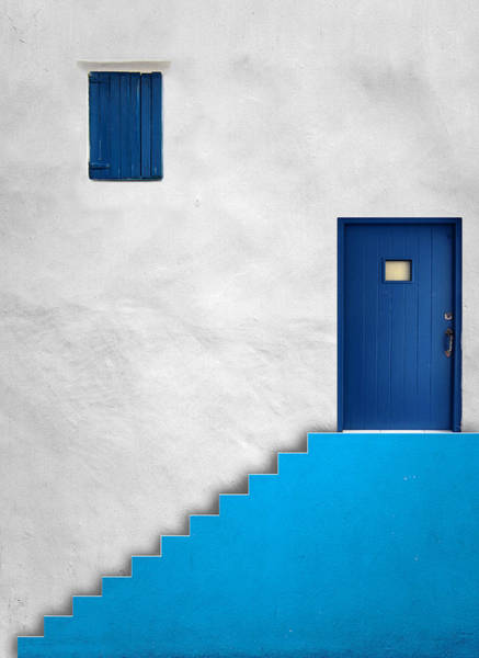 Wall Art - Photograph - Blue House by Alfonso Novillo