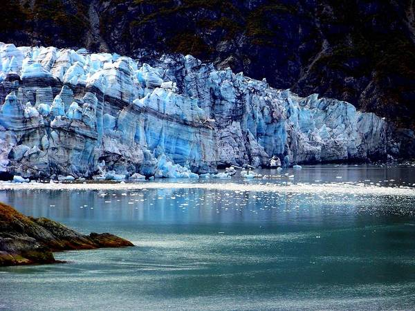 Glacier Bay Photograph - Blue Ice by Karen Wiles