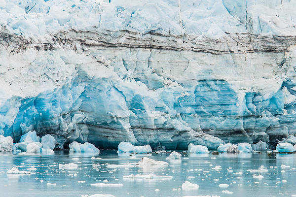 Photograph - Blue Ice by Melinda Ledsome