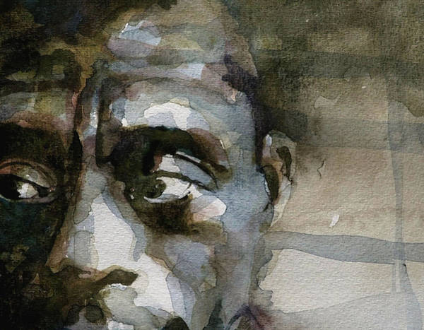 Wall Art - Painting - Blue In Green  Miles Davis by Paul Lovering