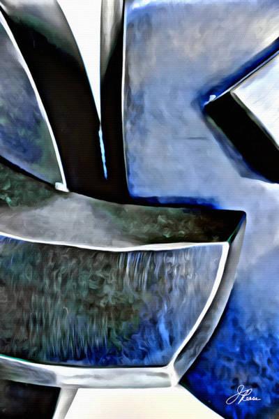 Blue Iron Art Print