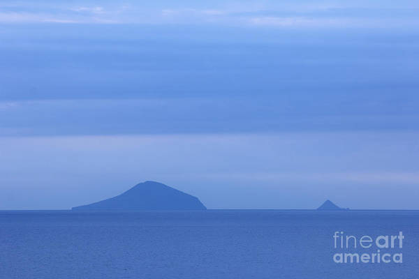 Photograph - Blue Islands Off The Coast Of Shimoda At Dawn by Beverly Claire Kaiya