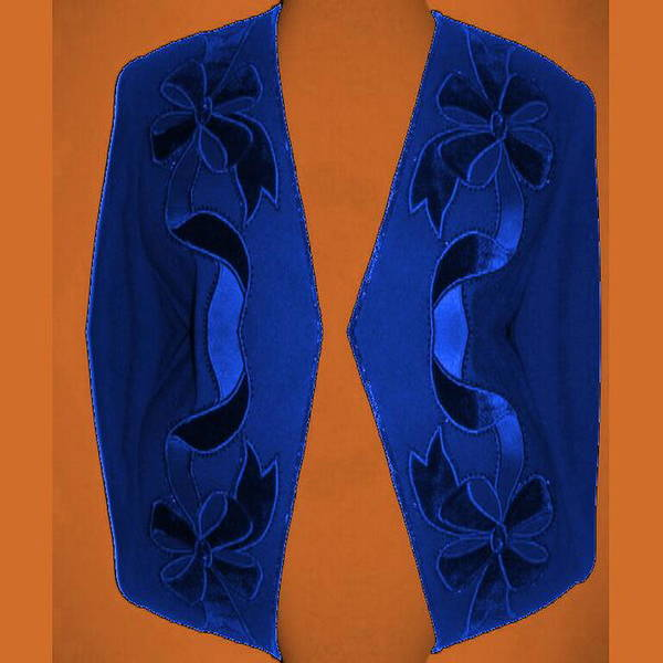 Digital Art - Blue Jacket by Mary Russell
