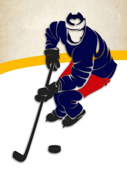 Blue Jackets Photograph - Blue Jackets Hockey Rink by Joe Hamilton