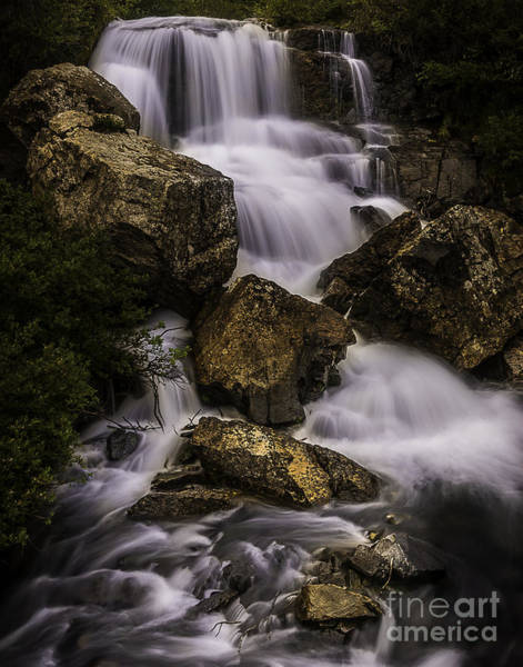 Photograph - Blue Lake Falls by Bitter Buffalo Photography