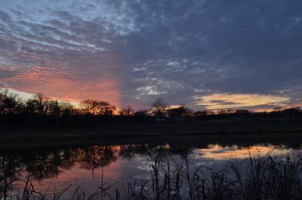 Photograph - Blue Lake Sunset Iv by Ricardo J Ruiz de Porras