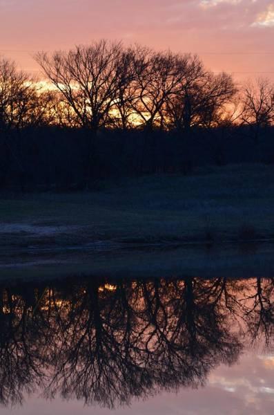 Photograph - Blue Lake Sunset Xi by Ricardo J Ruiz de Porras