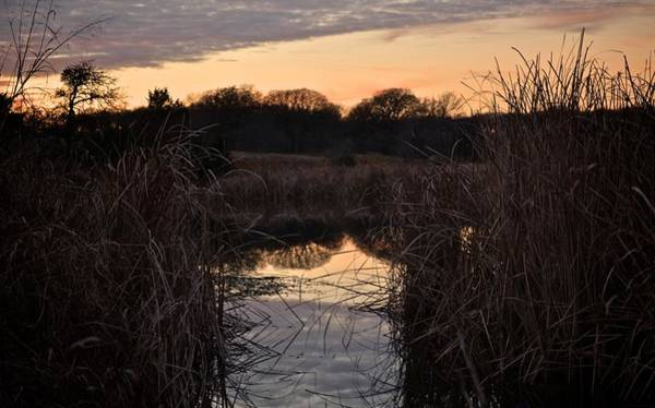 Photograph - Blue Lake Sunset Xix by Ricardo J Ruiz de Porras