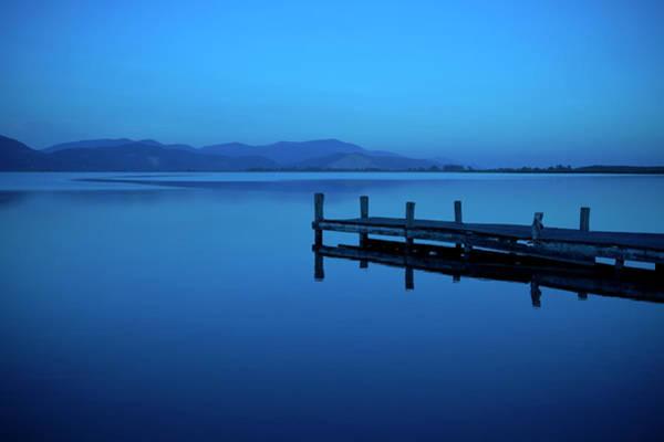 Freshwater Wall Art - Photograph - Blue Lake by T-lorien