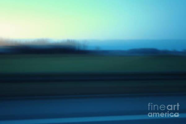 Photograph - Blue Landscape by Jutta Maria Pusl
