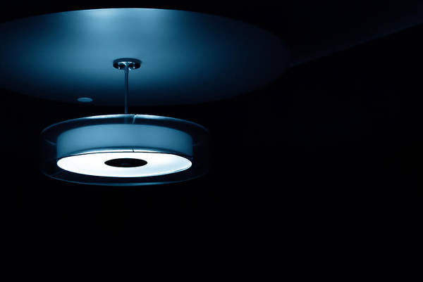 Photograph - Blue Light by Darryl Dalton