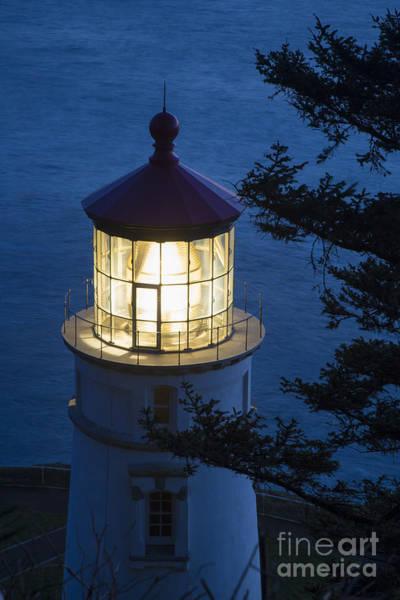 Wall Art - Photograph - Blue Lighthouse by Brian Jannsen