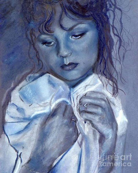 Pastel - Blue Love by Robin Maria Pedrero